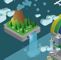 TELEFÓNICA INTERACTIVE. Um projeto de Ilustração e Motion Graphics de DAQ          - 03.04.2013