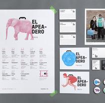 Imagen corporativa El Apeadero. A Design, Installations, and Photograph project by Verbena  - 05-04-2013