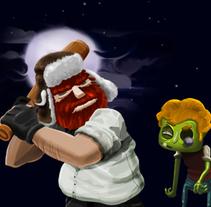 Zombie Game. Um projeto de Ilustração e Motion Graphics de Alejandro Álvarez Martínez         - 16.04.2013