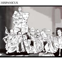 Idus Hispanicus. A Illustration project by Miguel Ozonas Gregori - 16-04-2013