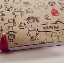Hoja por Hoja . Um projeto de Design e Ilustração de Eneri Mateos         - 25.04.2013