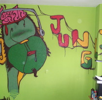"""""""Junglist"""". A Design, Illustration, Installations, and Photograph project by ZANART - 27-04-2013"""