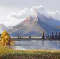 Lake. Un proyecto de Ilustración de Roberto Nieto         - 30.04.2013