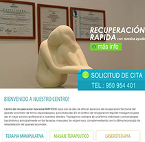 Centro de Recuperacion - Sitio Web. A Design, Software Development, and Photograph project by Alex         - 30.04.2013