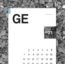 Calendario 2013. A Design project by Toni Castro García         - 02.05.2013