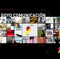 GoyoComunicacion. Un proyecto de Fotografía, Diseño y Publicidad de Goyo Arellano Alcocer - Lunes, 27 de mayo de 2013 00:10:12 +0200