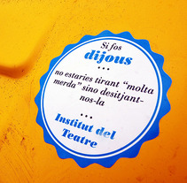 Dijous al Teatre. A Design, and Advertising project by Marcel Ferragut         - 29.05.2013