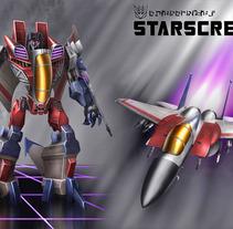 Starscream. Un proyecto de  de José L. Serrano Silva         - 30.05.2013