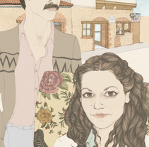 retratos. A Illustration project by Cecilia Sánchez         - 08.06.2013