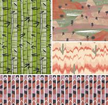 Pattern Design. Un proyecto de Ilustración de Sara Pedrero Díaz - 10-06-2013