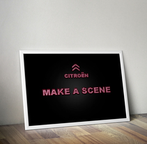 "Creativo ""Make a Scene"". A Design, Advertising, Film, Video, TV, Art Direction, Br, ing, Identit, Graphic Design, and Web Design project by Noa Primo Rodríguez - Mar 18 2014 12:00 AM"