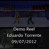Demo Reel 2012. A Design, Film, Video, TV, and 3D project by Eduardo Torrente - 20-06-2013