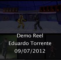 Demo Reel 2012. Um projeto de Design, Cinema, Vídeo e TV e 3D de Eduardo Torrente - 20-06-2013