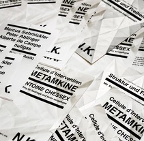 NK FLYERS | PAPER SERIES. A Design project by Aniana Heras         - 26.06.2013
