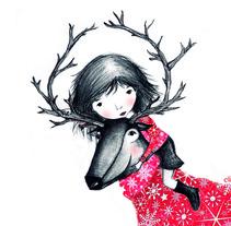 Navidad. A Illustration project by Elisa Bernat         - 29.07.2013