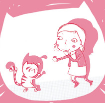 ahh!. A Illustration project by Elisa Bernat          - 29.07.2013