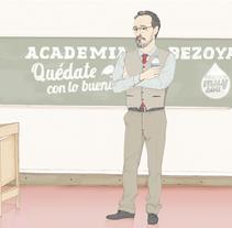 Promoción Bezoya. Um projeto de Ilustração e Publicidade de Cecilia Sánchez         - 16.08.2013