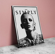 SIMPLY THE MAG ISSUE#0. A Design project by Pablo Abad - Aug 22 2013 10:30 AM