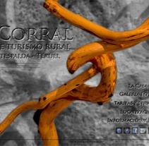 Casa de turismo rural El Corral. A IT project by Xavi Agut Carbó         - 18.09.2013