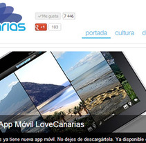 lovecanarias. A Design, Software Development&IT project by Laura Montañana González         - 21.09.2013