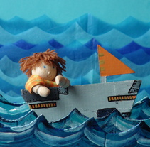 Hagrid stop motion. A Design, Illustration, Motion Graphics, Photograph, Film, Video, and TV project by Nuria Z.         - 24.09.2013