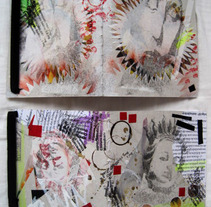 Serigrafía y encuadernación. Un proyecto de Diseño e Ilustración de María Maeso Cano - 06-03-2014