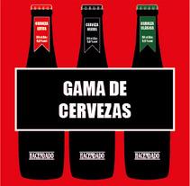 Cerveza Hacendado. Un proyecto de Diseño, Publicidad y UI / UX de Silvia  Durán Pérez - 07-10-2013