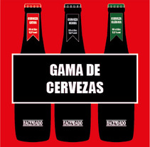 Cerveza Hacendado. A Design, Advertising, and UI / UX project by Silvia  Durán Pérez - 07-10-2013