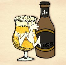 Cervecerias Kross | Perfil Facebook. A  project by Gonzalo Soto Silva         - 07.10.2013