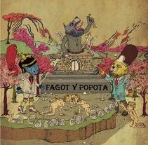 Fagot y Popota. El álbum. A Illustration project by Diego Lamas López         - 16.10.2013