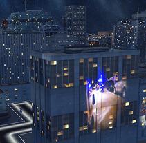 Cabecera Galicia 112. Um projeto de Motion Graphics e 3D de Diego Lamas López         - 16.10.2013