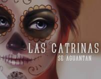 Las Catrinas se Aguantan. Un proyecto de Diseño e Ilustración de Ale Michel         - 20.10.2013