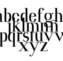 Kieler Type. A Design project by David A. Rittel Tobía (Sechzehn)         - 24.10.2013