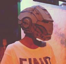 Casco Ironman. Um projeto de Design e 3D de Dámaso Suárez         - 24.10.2013