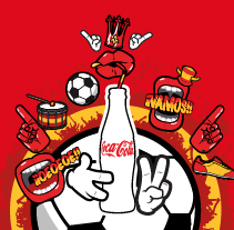 Eurocopa 2012. A Design, Illustration, Advertising, and 3D project by Álvaro Infante - 03-11-2013