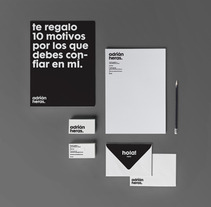 Identidad personal. A Design project by Adrián Heras Pozo         - 07.11.2013