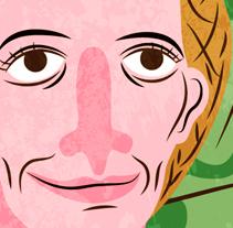 Begoña (Top Chef). Un proyecto de Ilustración de Rebeca Cuesta         - 07.11.2013