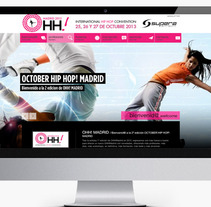 Diseño Web Promocional OHH Madrid. A Design, and Advertising project by Fernando Diez Colinas  - Nov 14 2013 01:28 PM