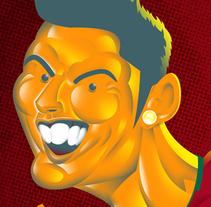 CR 7. A Illustration project by Carlos  Lezama McCarthy - 24-11-2013