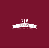 Nueva Imagen Papa's Taperia & Restaurante. Um projeto de Design de Carlos Garrido Velasco          - 25.11.2013