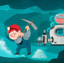 Ilustración Fondo Web Daiasolutions.com. A Illustration project by Érika G. Eguía         - 12.04.2013