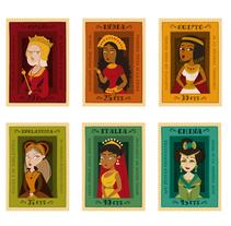 Los Sellos de las reinas. Um projeto de Ilustração de Raquel Jove         - 25.11.2013