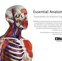 3D4Medical - Website Design. A UI / UX project by Raúl M. Vicente         - 26.11.2013