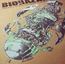 Biohazard Poster . A Illustration, Advertising, Music, and Audio project by Juan Esteban Rodríguez         - 26.11.2013