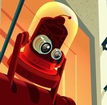 Le Loft. Un proyecto de Diseño e Ilustración de David Duprez - Miércoles, 28 de noviembre de 2012 00:00:00 +0100