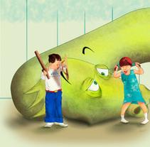 Puedo vencerlo yo solaaa!. A Illustration project by Alex Mojica Mtz - 28-11-2013