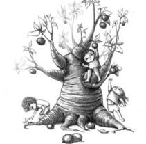 """""""¿Y si te cuentos tres cuentos?"""", de Roberto Arauzo.. A Illustration project by Amaya de la Hoz         - 14.12.2013"""