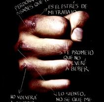 Domingo Glez_Carteles_Violencia de Genero. Um projeto de Design de Domingo Glez         - 31.03.2007
