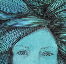 Els ulls que et miren. A Illustration project by Júlia Domènech Marti - 17-12-2013