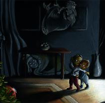 ¿Has oído...? ¡¡VAMOS!!. Un proyecto de Ilustración de Iván Torres         - 18.12.2013